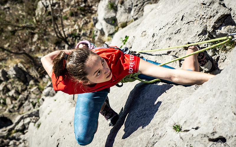Climbing Vipava Valley
